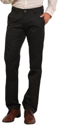 Bottoms Slim Fit Men's Dark Green Trousers