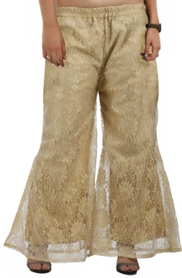 Shanaya Creations Regular Fit Women's Beige Trousers