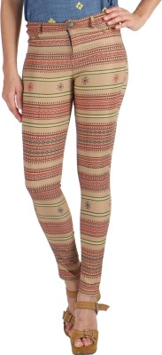 Vinegar Regular Fit Women's Multicolor Trousers