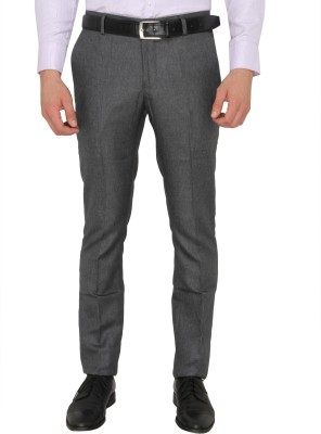 Donear NXG Slim Fit Men's Grey Trousers