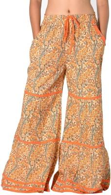 SBS Regular Fit Women's Brown Trousers
