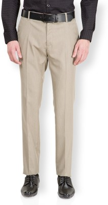 Black Coffee Slim Fit Men's Beige Trousers
