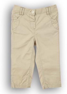 Lilliput Regular Fit Girl's Beige Trousers