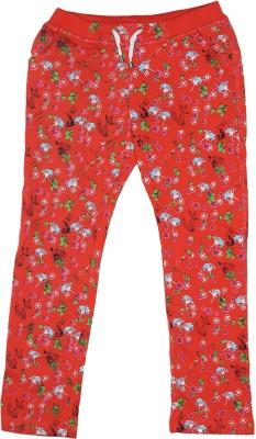 Elle Regular Fit Girl's Pink Trousers