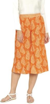Anouk Regular Fit Women's Orange Trousers at flipkart