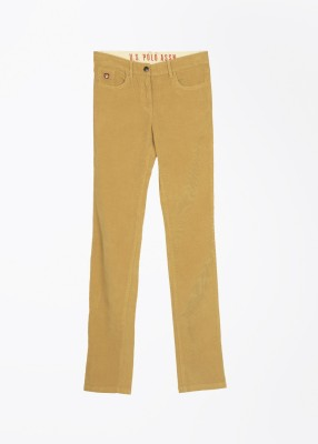 U.S. Polo Assn. Baby Girl's Beige Trousers