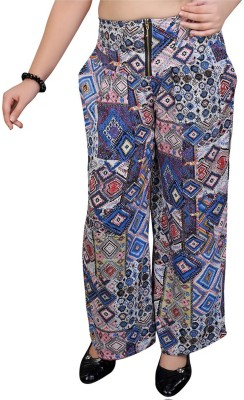 Mint Regular Fit Girl's Multicolor Trousers