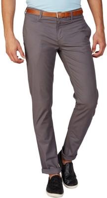 American Swan Regular Fit Men's Grey Trousers