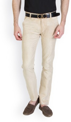 Bloos Jeans Slim Fit Men's Silver, White Trousers