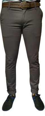 Oiin Slim Fit Men's Grey Trousers