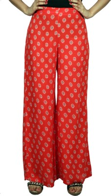 Vogue Centric Regular Fit Women's Red Trousers