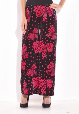 Sohniye Regular Fit Women's Black Trousers