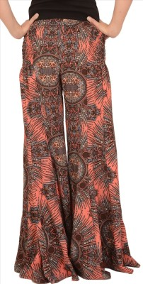 Skirts & Scarves Regular Fit Women's Pink Trousers