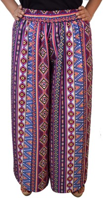 Saree Sparkle Regular Fit Womens Multicolor Trousers