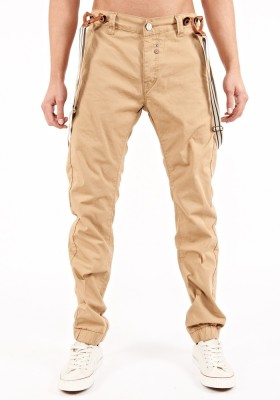 883 Police Slim Fit Men's Yellow Trousers
