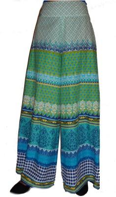 iihaa Regular Fit Women's Multicolor, Dark Blue, White Trousers