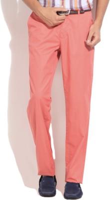 Gant Regular Fit Men's Pink Trousers
