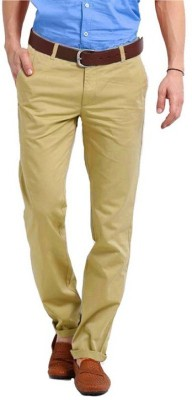 American Chinos Regular Fit Men's Beige Trousers