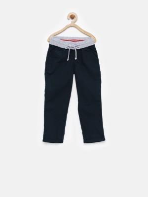 Yk Regular Fit Boy's Dark Blue Trousers