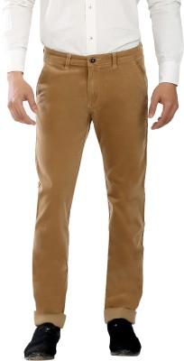 Scotlane Regular Fit Men's Brown Trousers