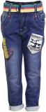 Benext Regular Fit Boys Blue Trousers