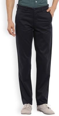 Color Plus Slim Fit Men's Blue Trousers