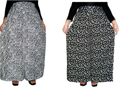 Barbarik Regular Fit Women's Black Trousers
