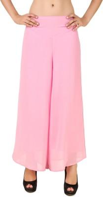 CHIKFAB Regular Fit Women's Pink Trousers