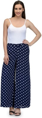 Something Different Regular Fit Women's Blue Trousers