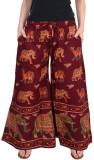 Magnus Regular Fit Women's Maroon Trouse...