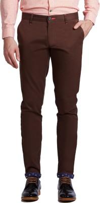 Specimen Slim Fit Men's Brown Trousers