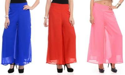 Stop Look Regular Fit Women Beige, Red, Pink Trousers at flipkart