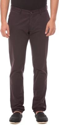 Prym Slim Fit Men's Red Trousers