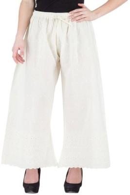 Komal Trading Co Regular Fit Womens White Trousers