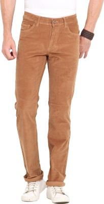 John Pride Slim Fit Men's Beige Trousers