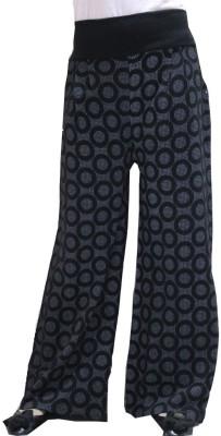 Matelco Regular Fit Women's Black Trousers