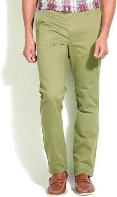 Gant Slim Fit Men's Green Trousers