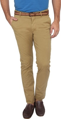 French Connection Skinny Fit Men's Brown Trousers