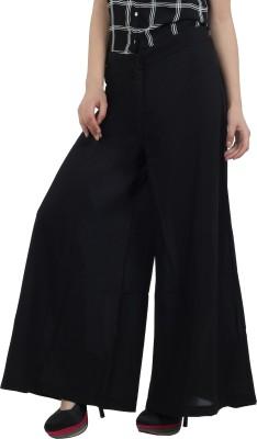 Mineral Regular Fit Women's Black Trousers