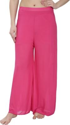 Secret Wish Regular Fit Women's Pink Trousers