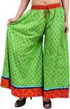 Rajrang Slim Fit Women's Green Trousers