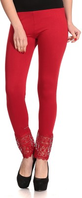 Concepts Slim Fit Women's Red Trousers
