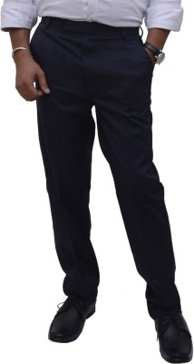 Fizzaro Regular Fit Men's Blue Trousers