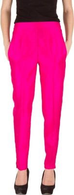 Castle Regular Fit Women's Pink Trousers