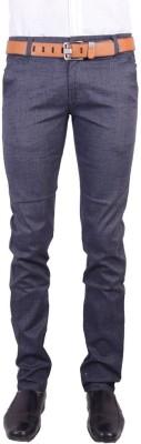 Logas Slim Fit Men's Blue Trousers