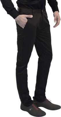 Club Vintage Slim Fit Men's Brown Trousers