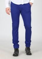 Breakbounce Slim Fit Mens Blue Trousers