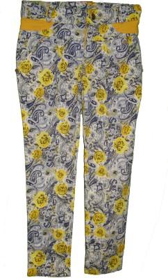 Bodingo Slim Fit Girl's Multicolor Trousers