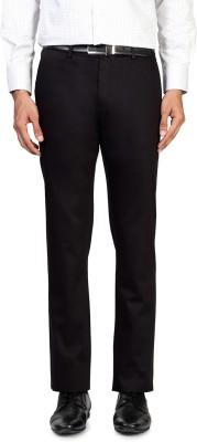 Allen Solly Regular Fit Men,s Black Trousers