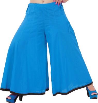Inblue Fashions Regular Fit Women,s Light Blue Trousers